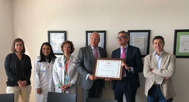 El Ministerio de Empleo y Seguridad Social reconoce al Hospital General de Villalba por su estrategia en seguridad laboral