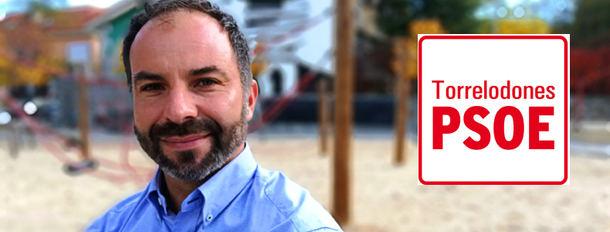 Rodrigo Bernal Zúñiga candidato del PSOE a la alcaldía de Torrelodones en los comicios de 2019