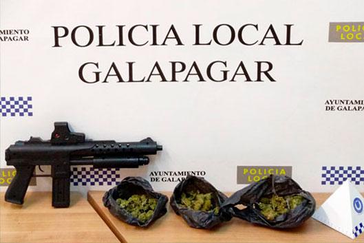 La Policía de Galapagar incauta droga a delincuentes de Torrelodones, Hoyo de Manzanares y Galapagar