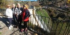 La Alcaldesa de Valdemorillo insiste en la conservación y limpieza de la presa del Aulencia