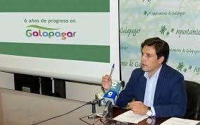 """""""Al principio fue muy difícil, pero hemos conseguido que el Ayuntamiento de Galapagar esté en el siglo XXI"""", Daniel Pérez."""