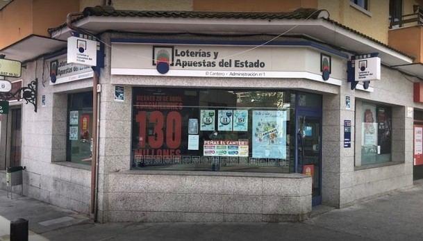 Roban 400.000 euros de una administración de lotería de Alpedrete