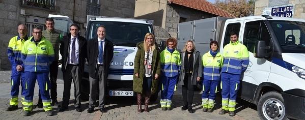 El Ayuntamiento de Collado Villalba presenta los vehículos de 'emisiones 0' para limpieza pública