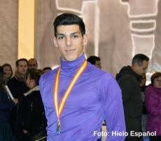 En Guadarrama Héctor Alonso se proclama Campeón de España de Patinaje Artístico en Logroño