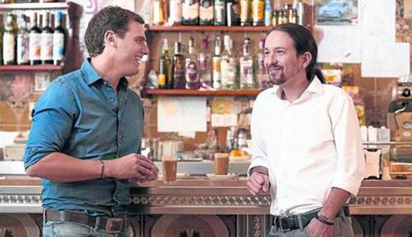Los españoles 'se van de cañas' con Pablo Iglesias