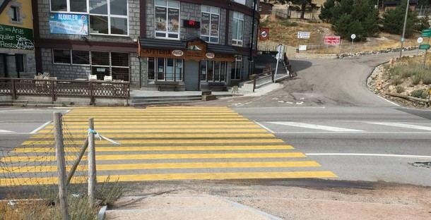 Ciudadanos (Cs) saca adelante su propuesta para instalar una pasarela peatonal en el Puerto de Navacerrada