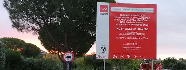 El PSOE de Torrelodones denuncia el caso del PIR menguante
