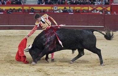 Manuel Escribano y el hierro 'Miura', doble triunfo en la Feria de San Blas de Valdemorillo