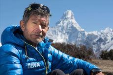 Con el título 'Mi vida en la montaña', Carlos Soria impartirá una conferencia en San Lorenzo de El Escorial