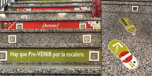 Moralzarzal pone en marcha una campaña de fomento de las escaleras