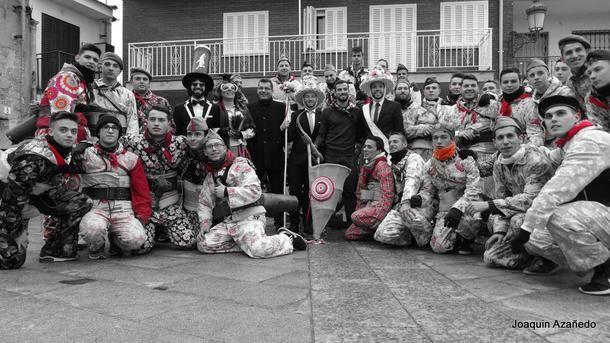 Celebración de la Fiesta de 'La Vaquilla' en Fresnedillas de la Oliva