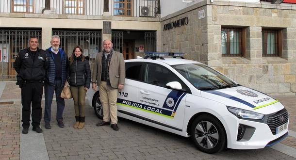 Nuevo coche patrulla para la Policía Local de Navalagamella