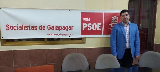 Alberto Gómez Martín, elegido candidato del PSOE a la alcaldía de Galapagar