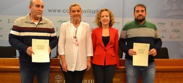 El Ayuntamiento de Collado Villalba firma el nuevo convenio del Personal Laboral con el acuerdo de todos los sindicatos