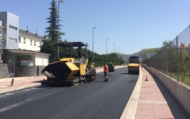 El lunes comienza en Collado Villalba la operación asfalto 2019