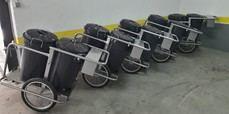 Nuevos carritos de limpieza en El Escorial
