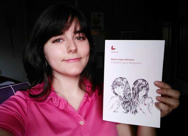 La villalbina Gema López ganó el concurso de emprendimiento IDEAE con sus 'tarjebooks'