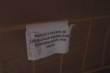 El Partido Popular denuncia la inseguridad en el Polideportivo de Moralzarzal