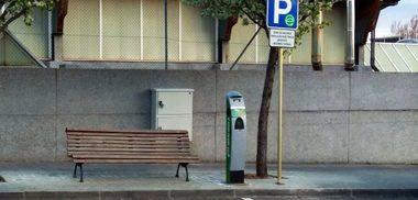 Ya están en funcionamiento los dos nuevos puntos de recarga gratuita de vehículos eléctricos en San Lorenzo