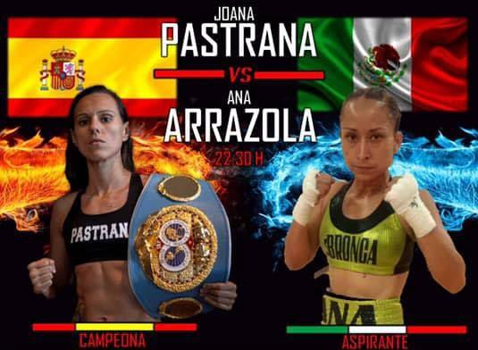 Moralzarzal acoge el Mundial de Boxeo femenino con el combate entre Joana Pastrana y Ana Arrazola
