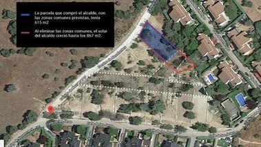 Pelotazo del Alcalde de Galapagar: compra una parcela, anexiona las zonas comunes y la vende por el doble