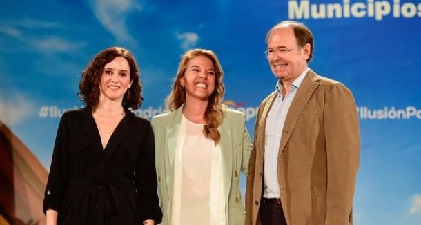 Díaz Ayuso presenta oficialmente a Carla Greciano como candidata a la alcaldía de Galapagar