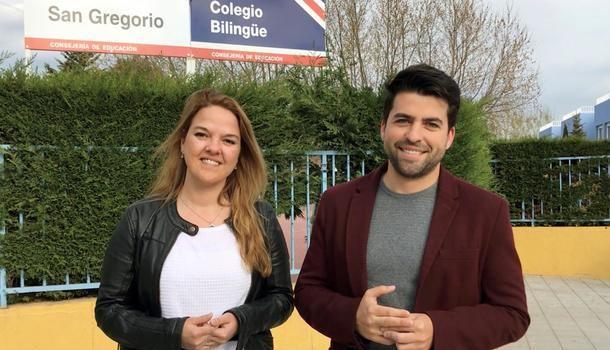 La candidata a la alcaldía de Galapagar, Carla Greciano ofrecerá subvenciones a las AMPAS