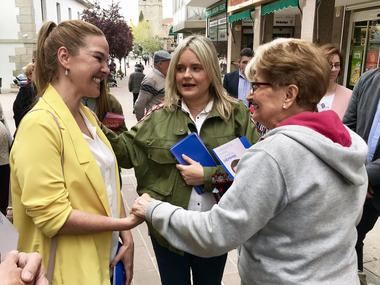 María del Mar Blanco dice que Galapagar tiene en Carla Greciano la mejor candidata al Ayuntamiento