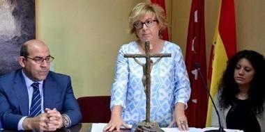 Unidas Podemos acusa a la alcaldesa de Guadarrama de utilizar recursos públicos para autopromocionarse