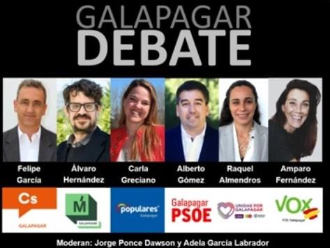 La iniciativa ciudadana reunió a todas las candidaturas políticas en el municipio de Galapagar