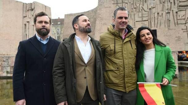 VOX según el sondeo de 'Madridata' supera a Cs y se coloca como tercera fuerza política en Madrid