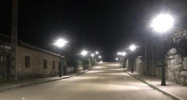 Los Molinos sustituye todo su alumbrado público por luces led y renueva sus centros de mando