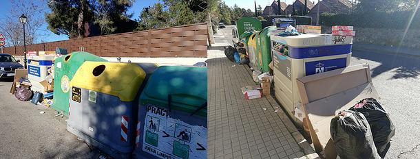 Paralizado nuevamente el contrato de limpieza y recogida de basuras de Torrelodones