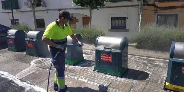 Primeras actuaciones del Ayuntamiento de Valdemorillo centrada en la recogida de residuos y mantenimiento del estado de calles y plazas