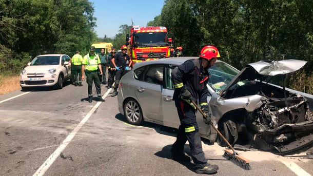 Seis heridos uno de ellos grave, tras sufrir un accidente de tráfico en San Lorenzo de El Escorial