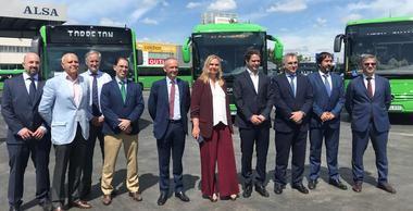 La Comunidad de Madrid ha renovado casi la mitad de la flota de autobuses interurbanos de la región