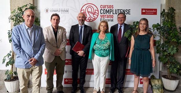 San Lorenzo de El Escorial da la bienvenida a la XXXII edición de los Cursos de Verano de la Complutense