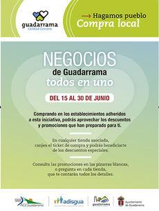 Los comercios de Guadarrama inician la campaña 'Todos en uno' con descuentos y promociones