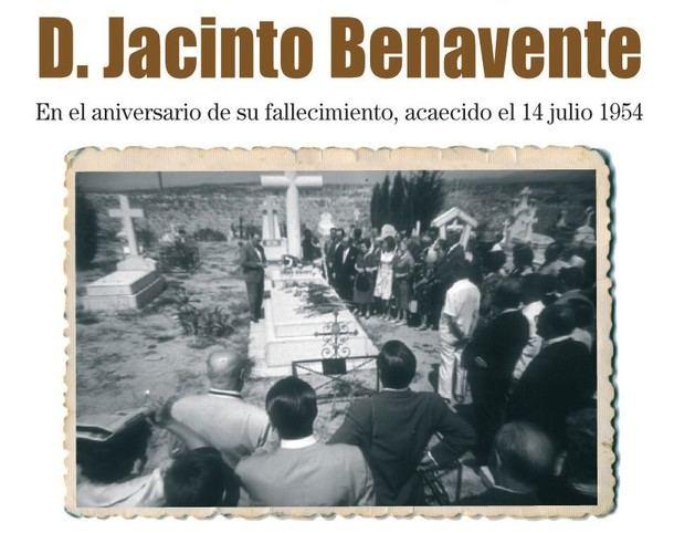 En el aniversario de su fallecimiento, Galapagar homenajea a Don Jacinto Benavente