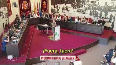 Sobre la polémica generada por el juramento en la toma de posesión de la concejala de Galapagar Celia Martell