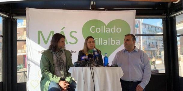 'Más Collado Villalba' critica al PSOE y apoya las retribuciones salariales propuestas por PP-Cs