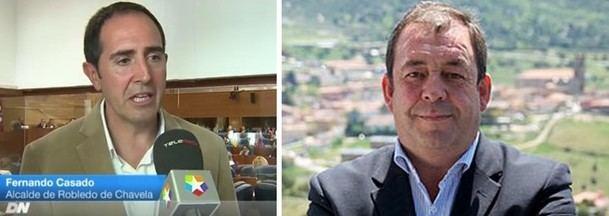 El Alcalde de Robledo de Chavela, Fernando Casado (Cs) acusa a su antecesor, Mario de la Fuente (PP), de judicializar la política local