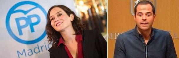 Ciudadanos (Cs) hará presidenta de la Comunidad de Madrid a Ayuso tras renunciar Vox a derogar las leyes LGTBI