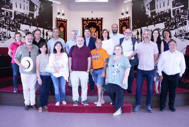 Galapagar ha sido escenario de la última reunión de 'AISGUA'
