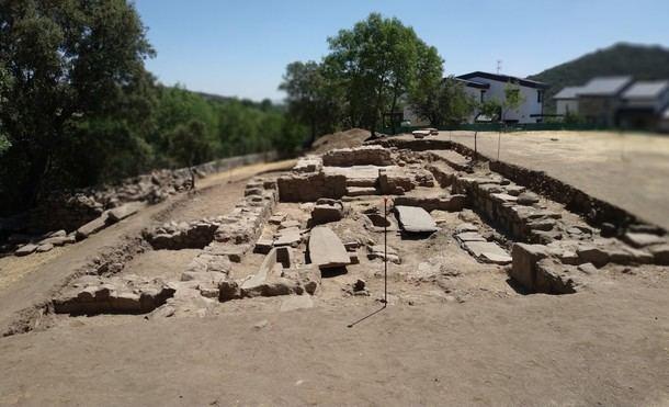 Un grupo de arqueólogos descubre una iglesia del periodo visigodo en El Rebollar (El Boalo)