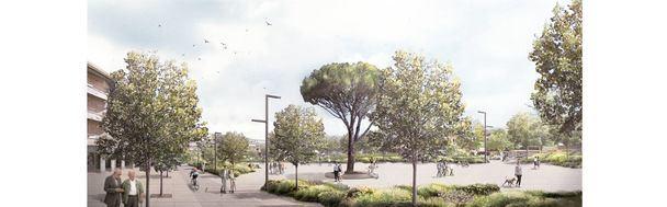 El próximo 1 de agosto comenzarán las obras de remodelación de la Plaza de Los Belgas de Collado Villalba