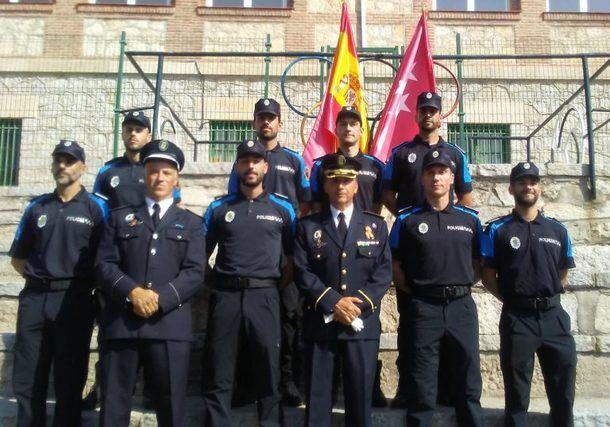 Galapagar refuerza la seguridad del municipio con ocho nuevos agentes de Policía Local