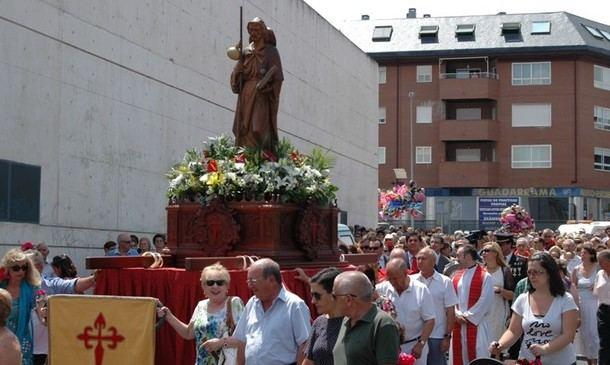 Tras el pregón de ayer en la Plaza de la Estación, Collado Villalba celebra sus fiestas en honor de Santiago Apóstol