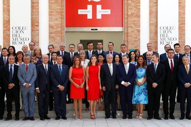 La Reina celebrará el próximo martes en San Lorenzo de El Escorial una sesión de trabajo con 70 directivos del Cervantes