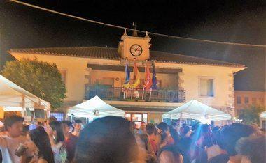 Susto en Torrelodones tras un conato de incendio en un chiringuito de las fiestas del municipio